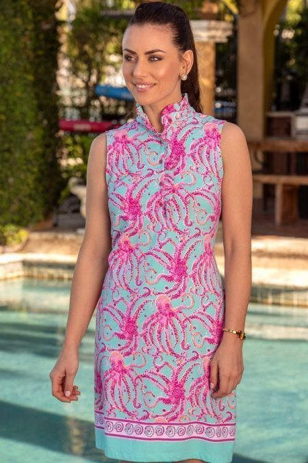 46d57-octavia-print-knit-sleeveless-ruffle-neck-polo-dress-jade-pink