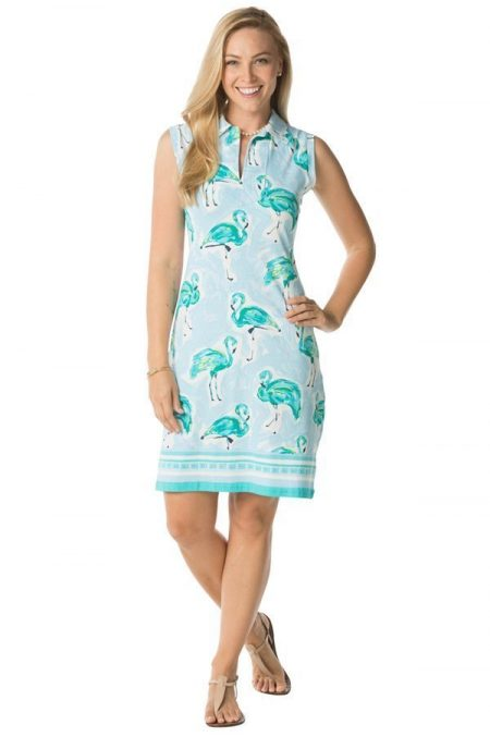 14a20-sunset-flamingos-print-sleeveless-polo-knit-dress-seafoam-3