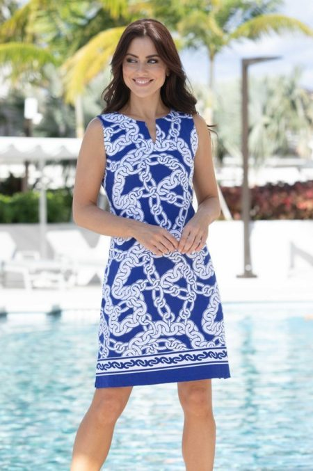 12h97-on-the-links-print-knit-palm-beach-shift-dress-navy-white-2