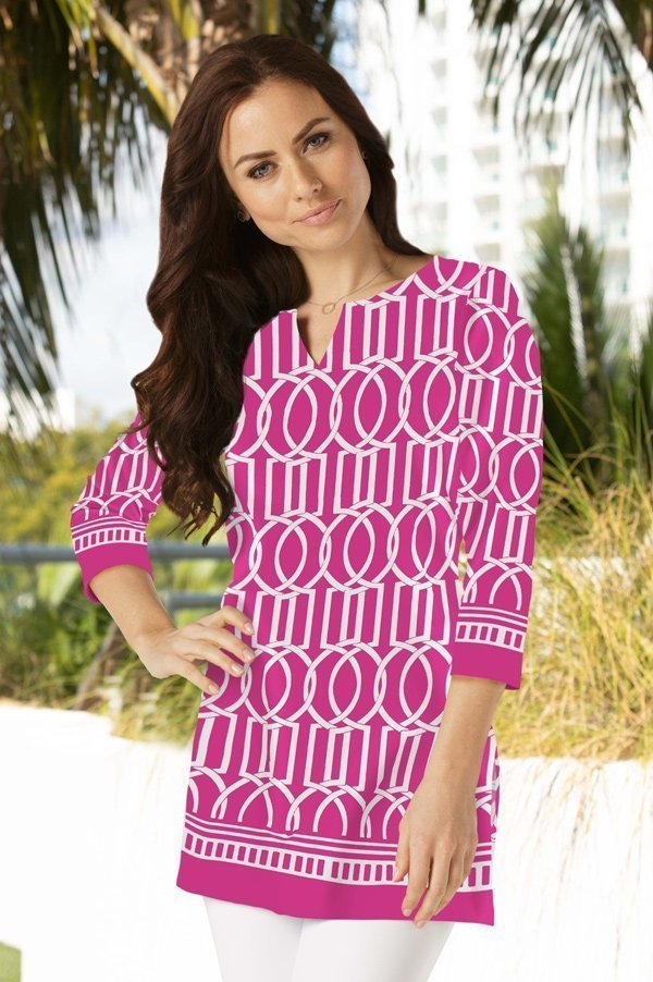20a21-haley-print-knit-tunic-hot-pink