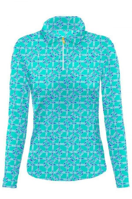 84d55-nauti-knots-print-nylon-long-sleeve-polo-top-mint-blue