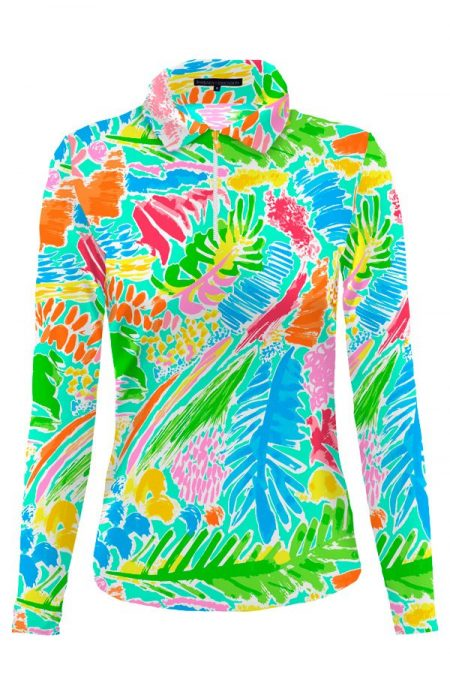 84d63-veranda-print-nylon-long-sleeve-polo-top-seafoam-multi