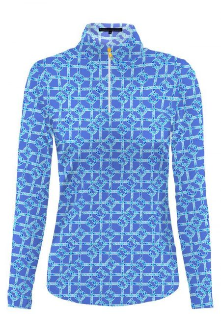86d55-nauti-knots-print-nylon-long-sleeve-mock-neck-top-navy-sky