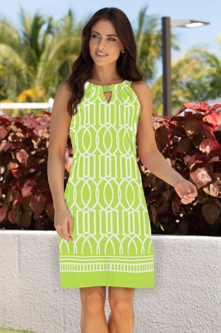 11a21-haley-print-knit-keyhole-shift-dress-lime