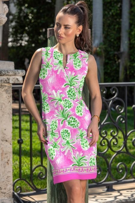 12g83-pineapple-grove-print-palm-beach-shift-dress-pink-green