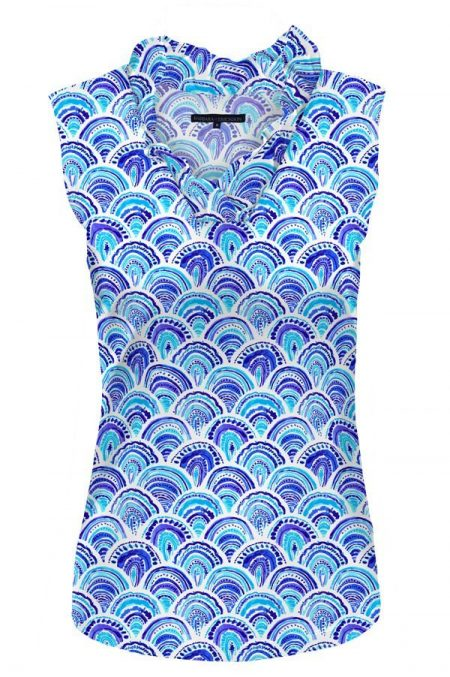 80d60-sea-shells-print-sleeveless-ruffle-portrait-neck-top-blues