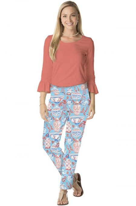 93g80-ginger-coral-print-cotton-pull-on-pant-turq-coral-2