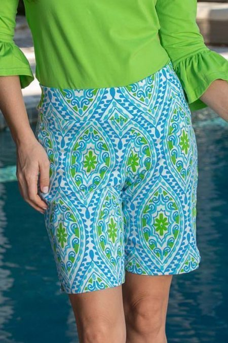 94d54-moroccan-tiles-print-cotton-sateen-stretch-pull-on-bermuda-short-turq-lime-2
