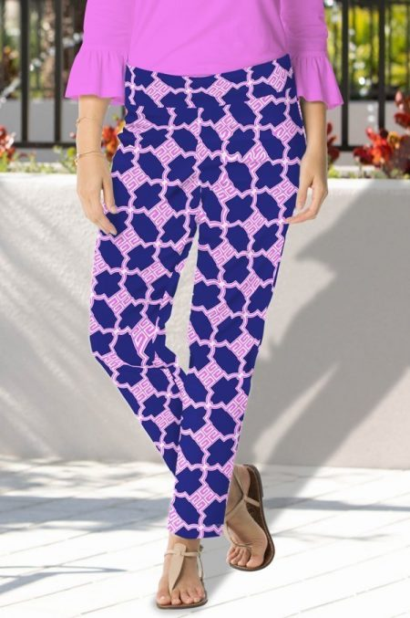 93h06-big-trouble-print-cotton-sateen-pull-on-pant-navy-pink